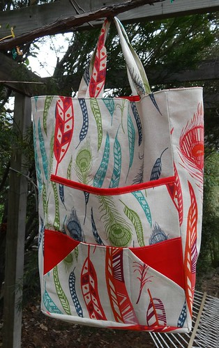 Knitting Bag Front