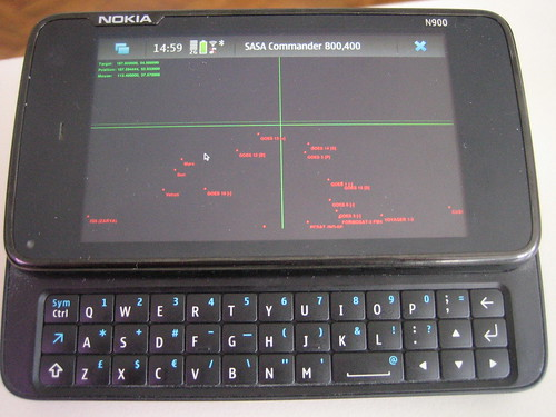 SASA Commander on the N900