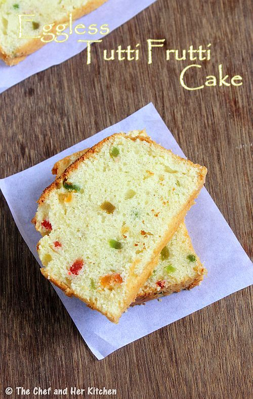 Eggless Vanilla Cake Recipe With Images : THE CHEF and HER KITCHEN: Eggless Vanilla Sponge Cake ...