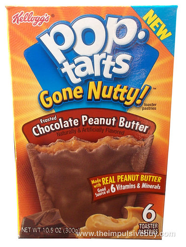 REVIEW: Pop-Tarts Gone Nutty! Frosted Chocolate Peanut Butter - The ...