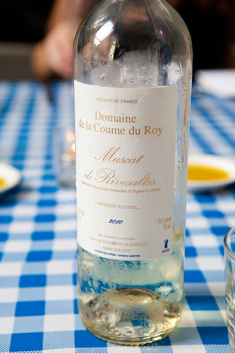Domaine de la Coume du Roy, Muscat de Riversaltes AOC 2010