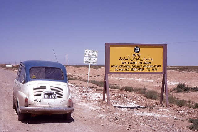 Afghanistan/Iran Border, 1969
