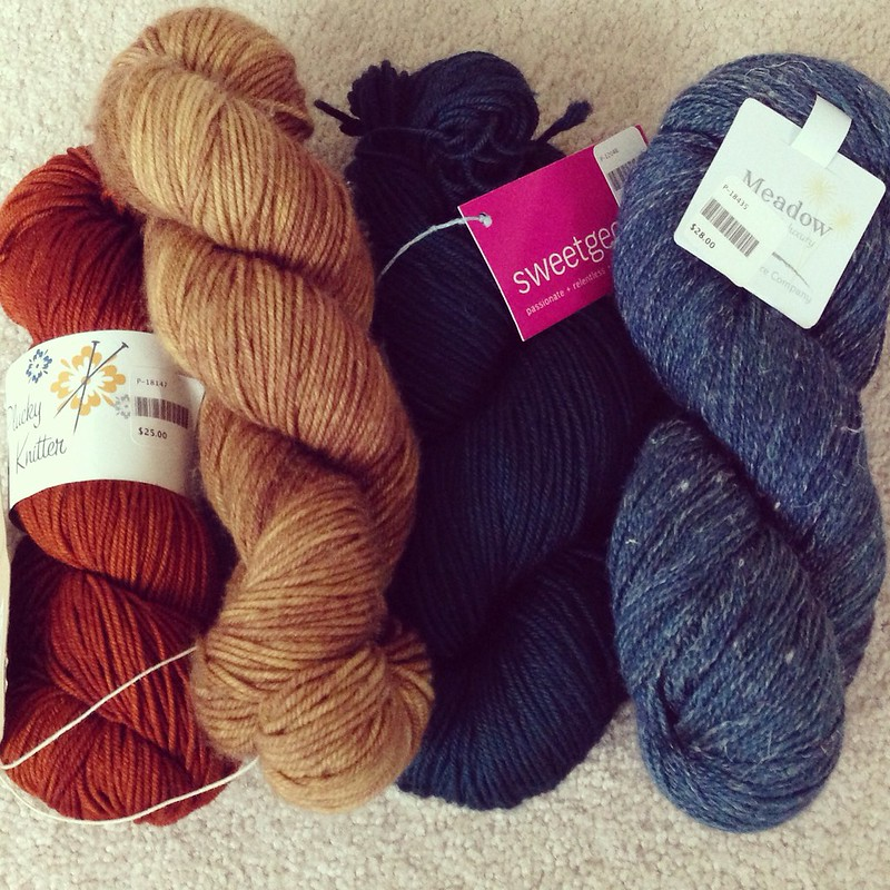 Yarn shopping