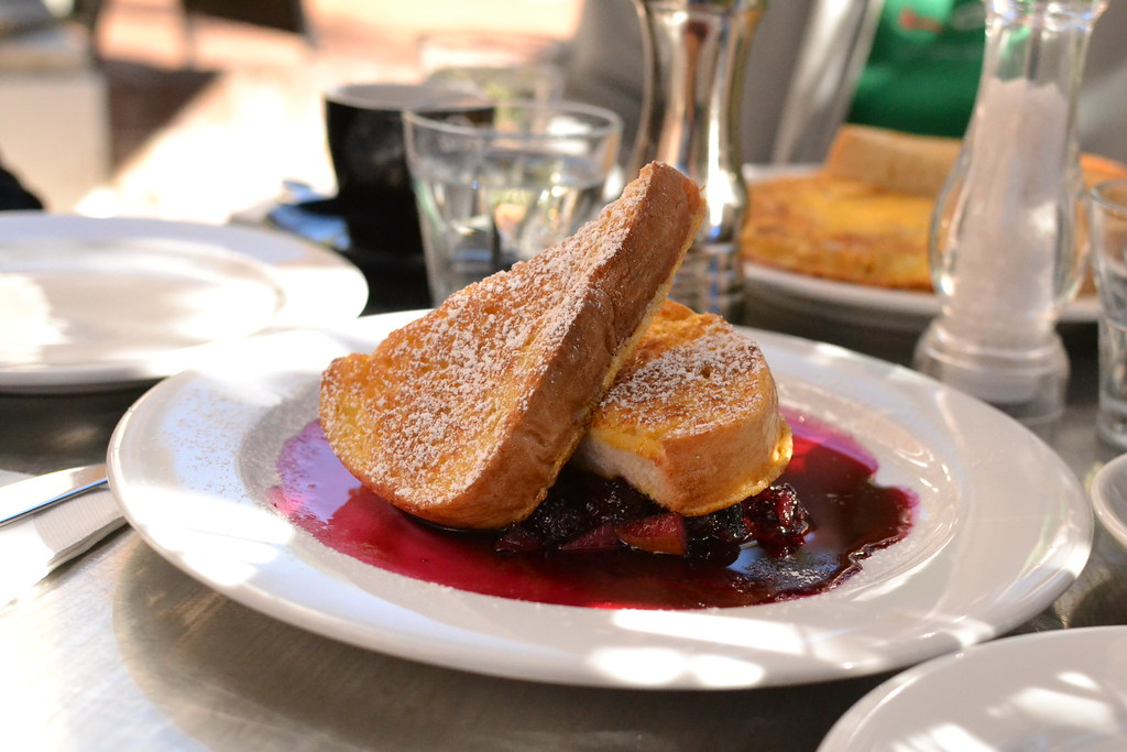 French Toast, with berries and...?