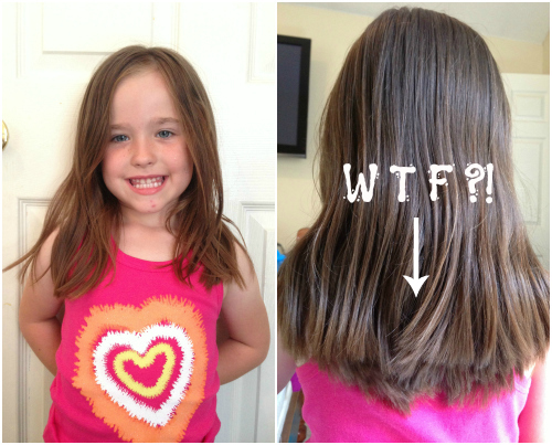 Gallery For Bad Layered Haircut Fix ...