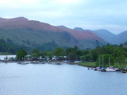Alpenglow over Ullswater