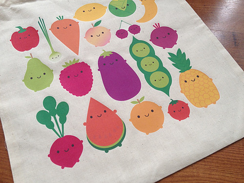 5 A Day Tote Bag