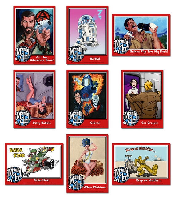 Manly Art Business (Trading) Cards: Series 2!