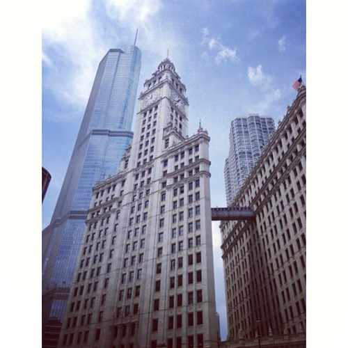 Chicago. Trump & Wrigley