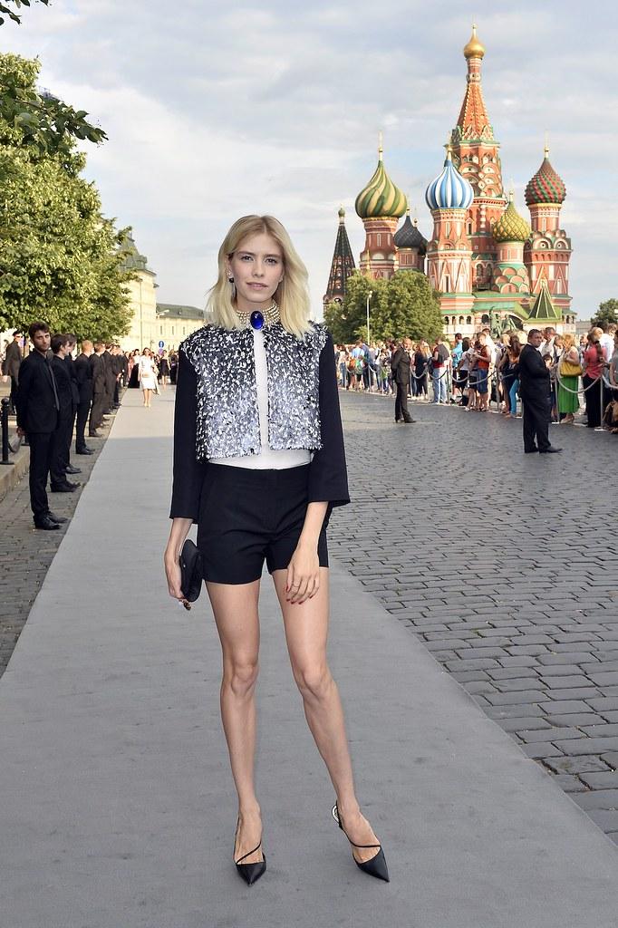 Elena Perminova - Photo Luc Castal Dior Moscou 2013