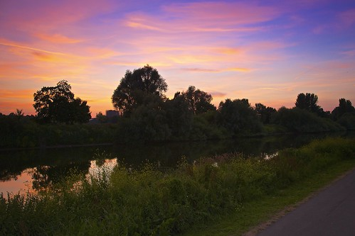sunset canon river eos cloudy severn worcester 5dmarkiii