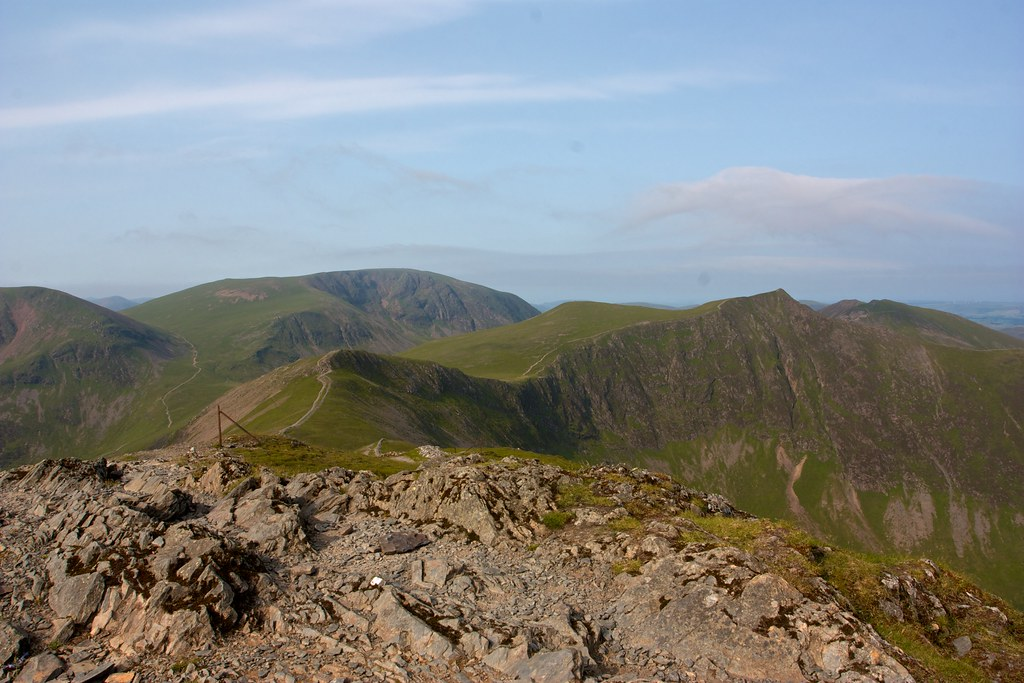 West from Grisedale Pike
