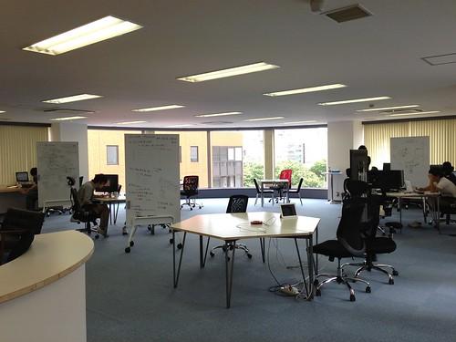 渋谷区神南にオフィス移転しました! 〜 ソニックガーデンの新しいオフィスを紹介します