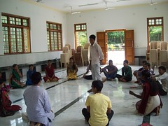 Games at Youth Camp at Udupi