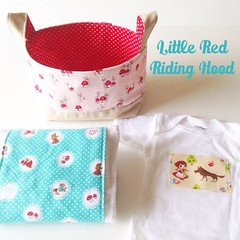 Little Red Riding Hood baby gift set