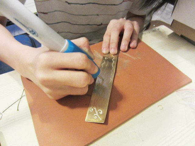 Brass and Silver Jewelry Workshop