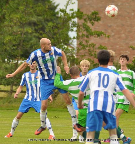 Cliffe FC 2ndXI 3 - 4 Hensall & Kellington 10Aug13