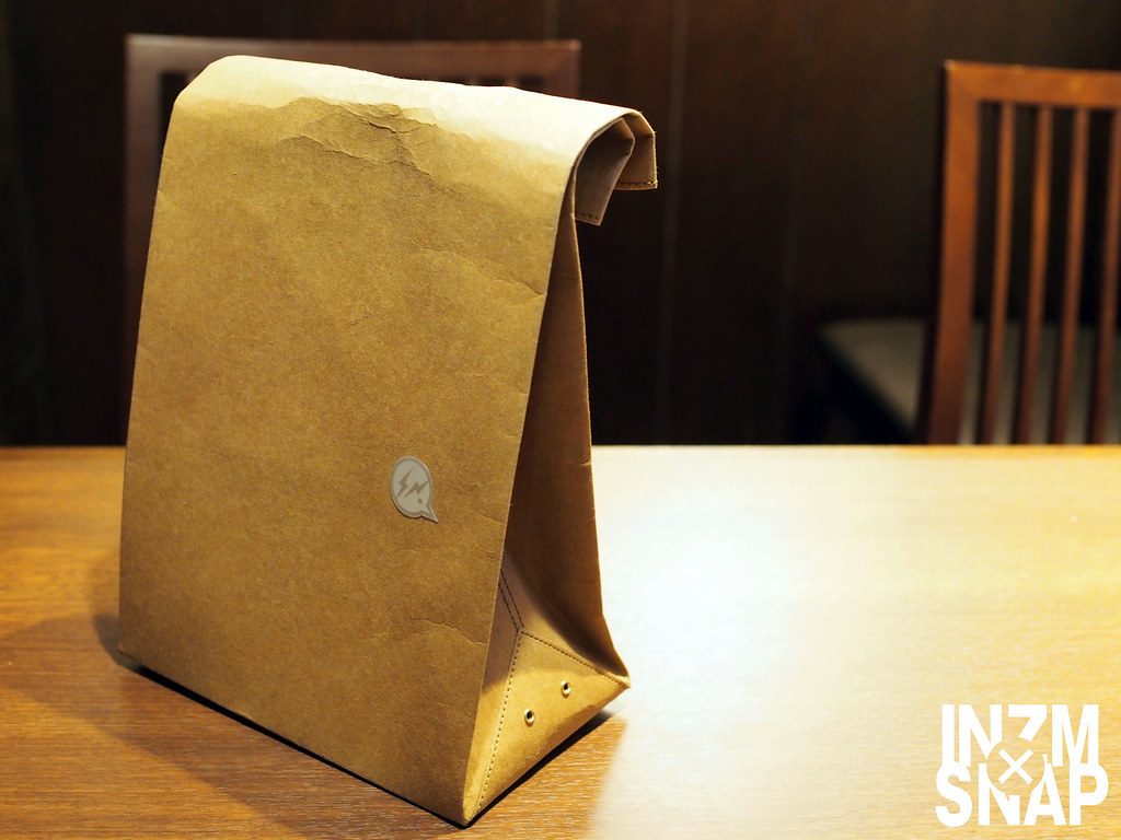 JIL SANDER: Paper Bag + DENIM BY VANQUISH & FRAGMENT: Stencil Light Sticker