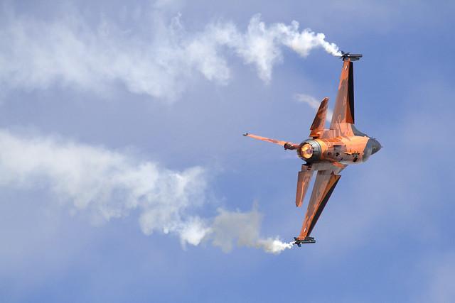 Nertherland F-16 Demonstaration team