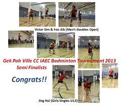 Gek Poh CC tournament 2013