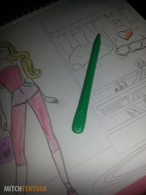Crayon shape