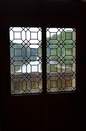 Chateau de Chenonceau geometric window panes