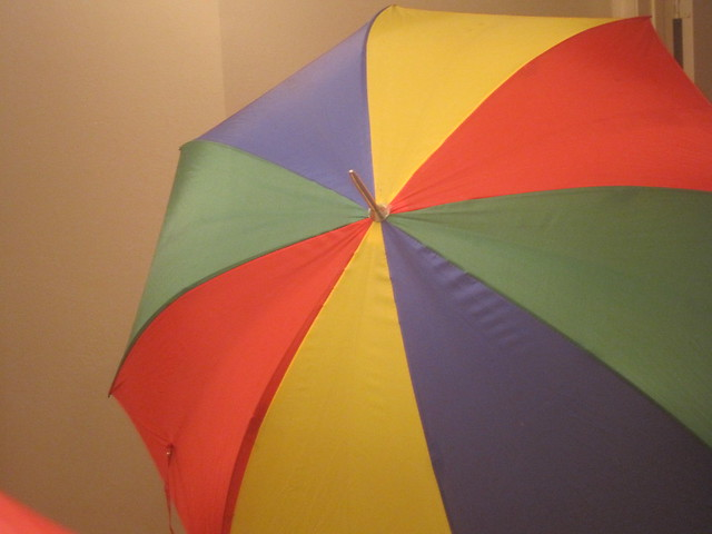 Sixth Doctor Umbrella