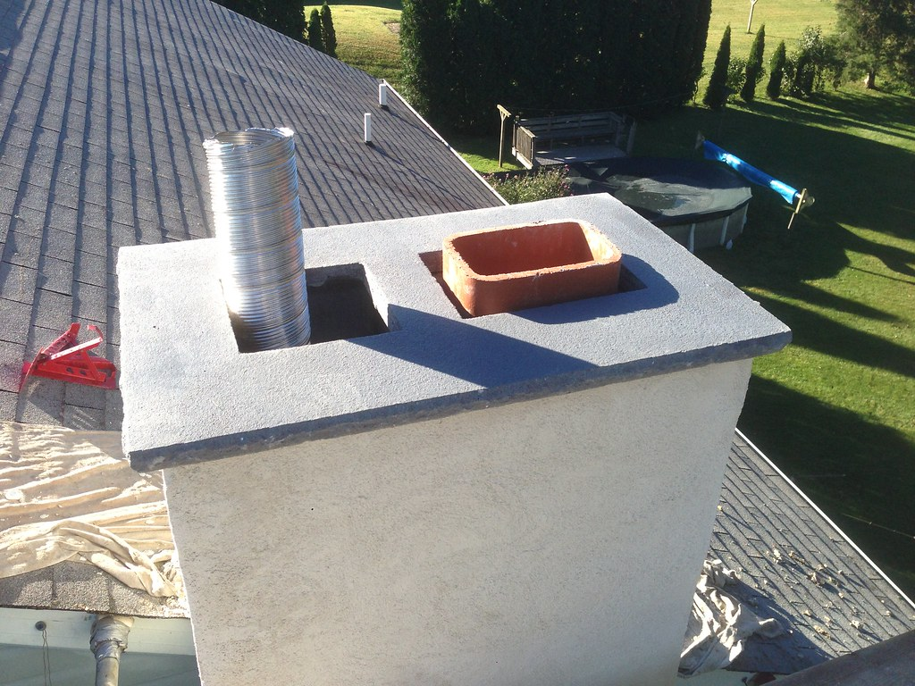 Cast In Place Chimney : Chimney and fireplace home hearth masonry