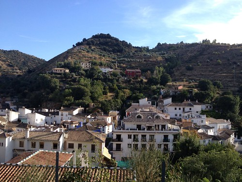 Monachil, Spain. Just outside of Granada. I unzipped my skin, stepped out of my body, and yep ... This is actually happening.