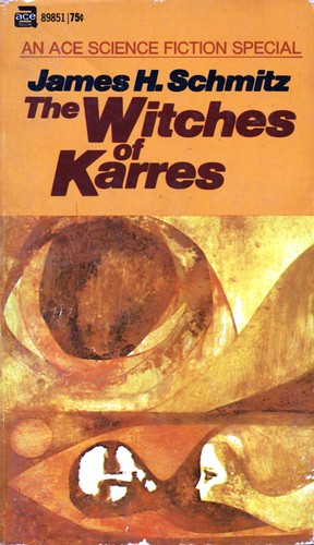 The Witches of Karres by James H. Schmitz. Ace 1966. Cover artists Leo & Diane Dillon