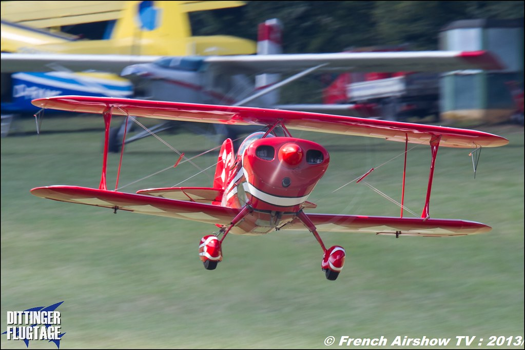 Pitts Special S1s,Dittinger Flugtage 2013