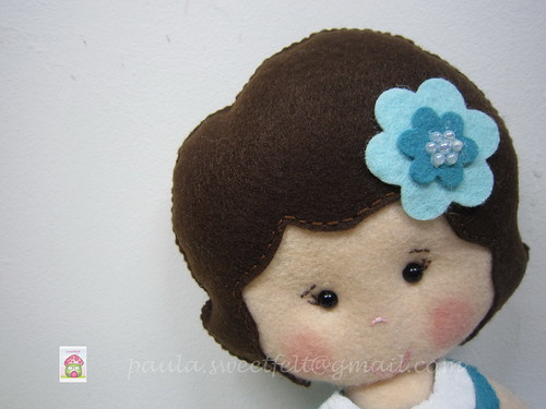 ♥♥♥ A boneca da Ana ... by sweetfelt \ ideias em feltro