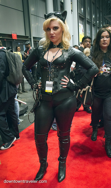 NY Comic Con Womens Costume Catwoman