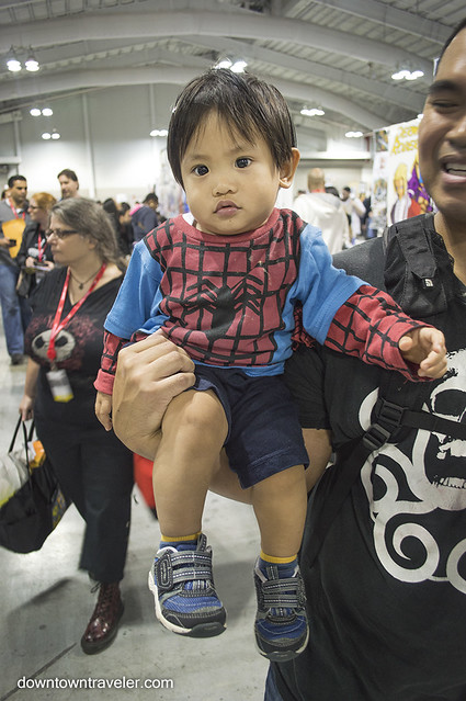 NY Comic Con Baby Costume Baby Spiderman