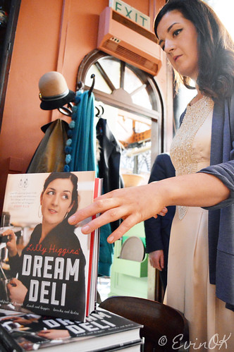 Lilly Higgins Book Launch for 'Dream Deli' at Farmgate in Cork's English Market