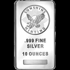Shiny Silver Bars Make Way into Investors' Portfolio