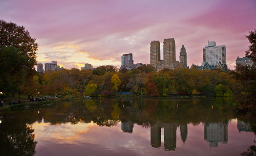 Sunset in Central Park, New York City | by Anthony Quintano