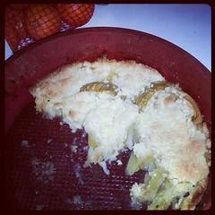 ♣ crumble aux pommes aux goûter. Cela a fait fureur. ♣ #gateau #cuisine #ourlittlefamily #france