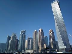 Dubai Marina in the morning