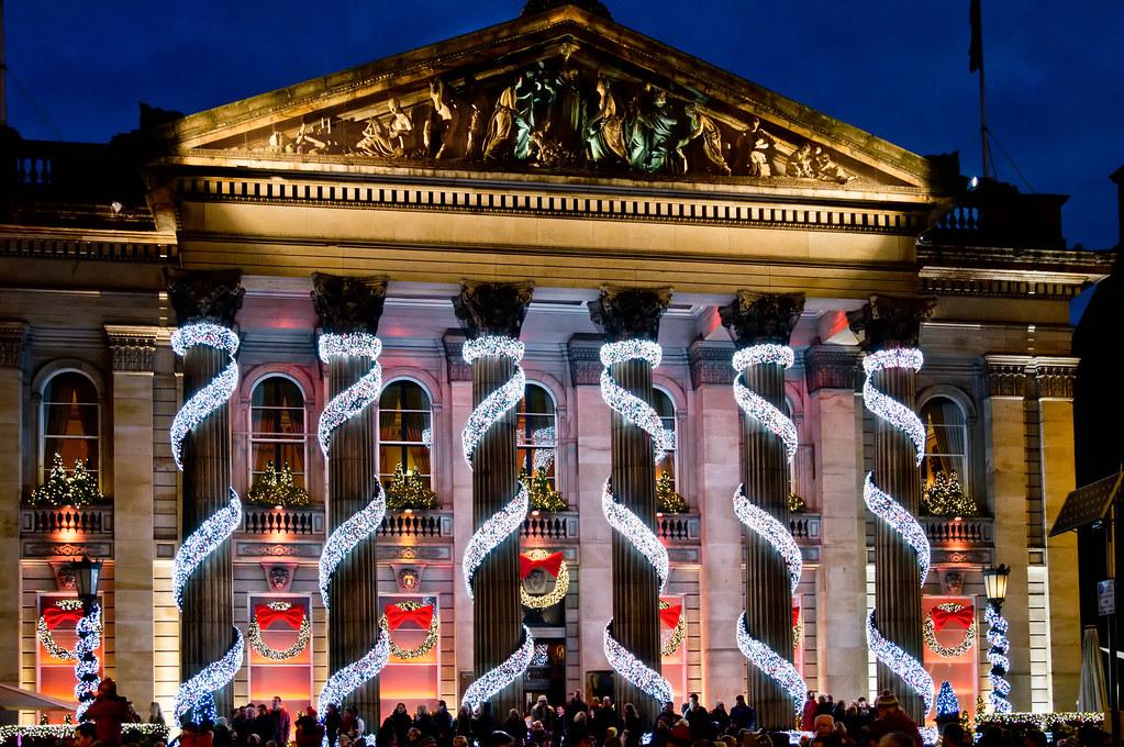 the dome edinburgh christmas decorations