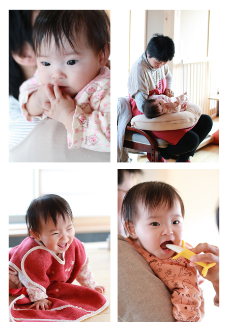 赤ちゃん写真 出張撮影 愛知県瀬戸市 女の子 記念写真