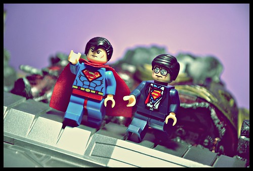 Superman & Clark Kent - Superman III?