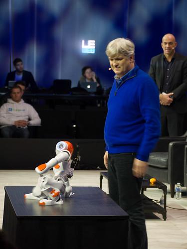 LeWeb'13, Aldebaran Robot 2