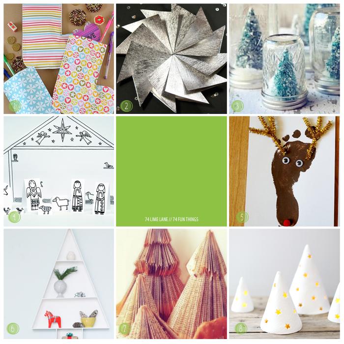 74 fun things // crafty christmas cheer