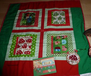 Ornament and mini quilt