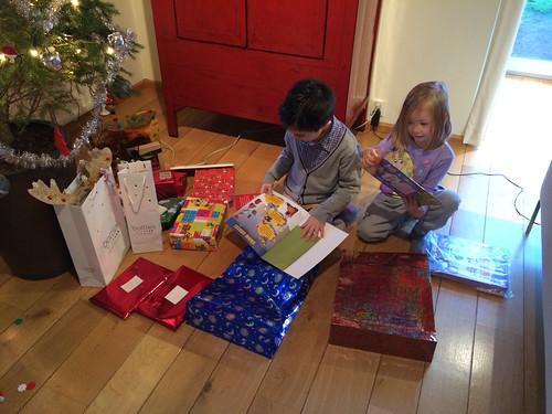 Presents on Christmas morning!