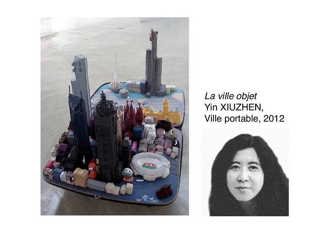 XIUZHEN Yin, Ville portable, 2012