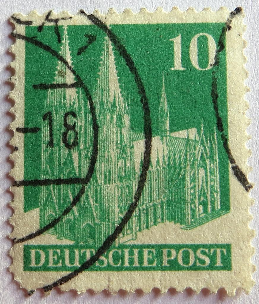 By SONICA Photography German Stamp Deutsche Post