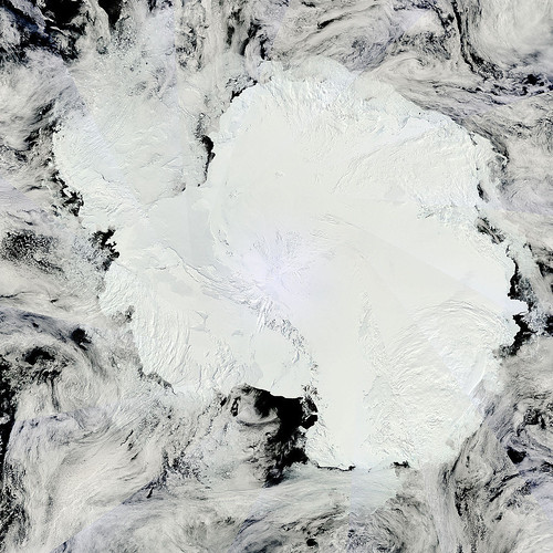 Mosaic of Antarctica by NASA Goddard Photo and Video