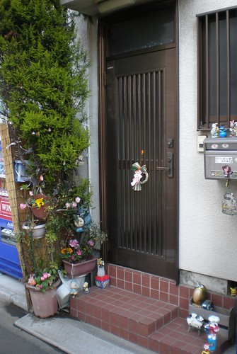 Decorated doorstep 2